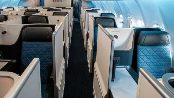 Delta Airlines Flies with Aerofoam Cushions and Covers